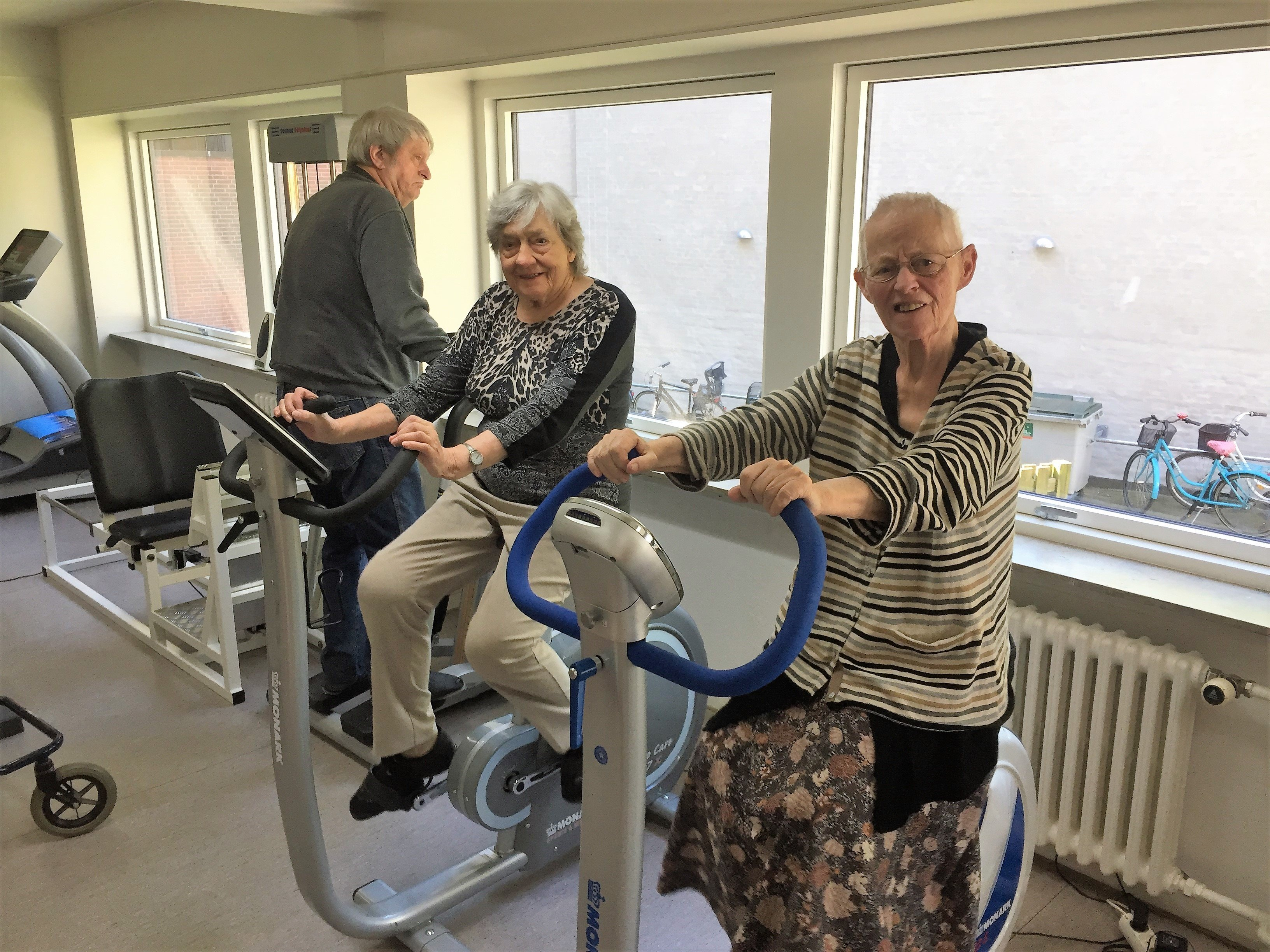 Ella Else og Steen i fitness